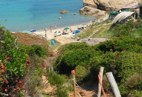 Kako doći do plaže Krifi Ammos - Skiatos