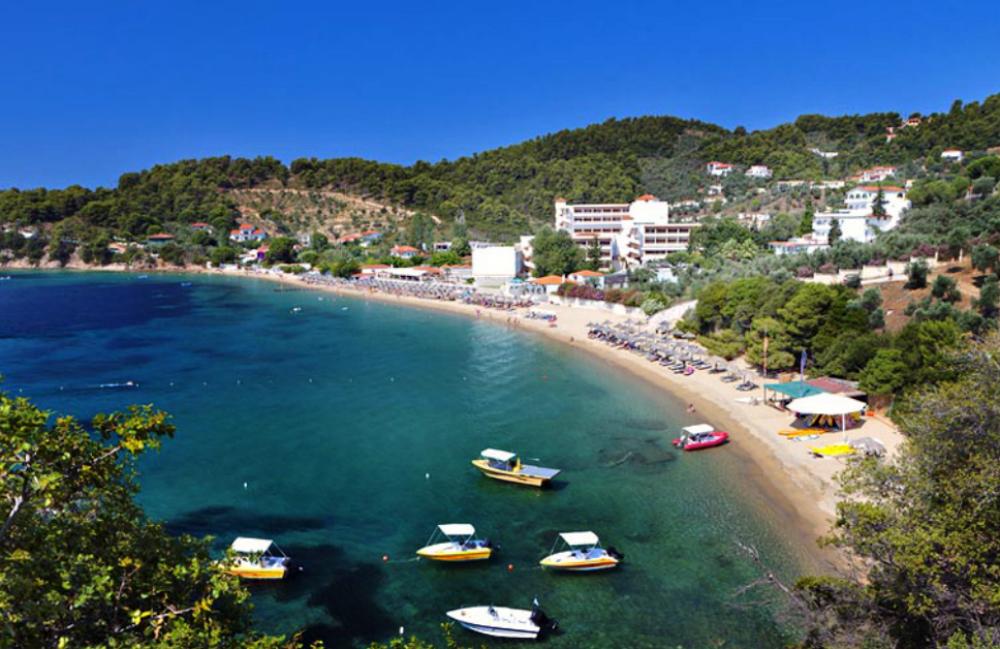 Plaža Ahladies Skiatos Grčka Letovanje