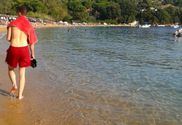 Plaža Kolios Omega Zaliv Skiatos