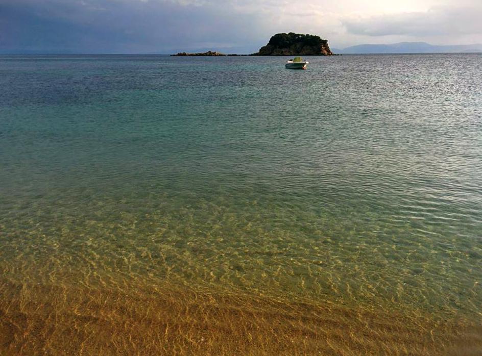 Plaža Trulos Skiatos Grčka