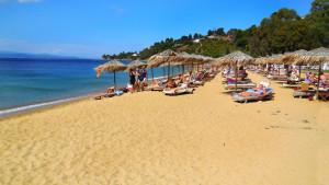 Agia Paraskevi plaža Skiatos Grčka
