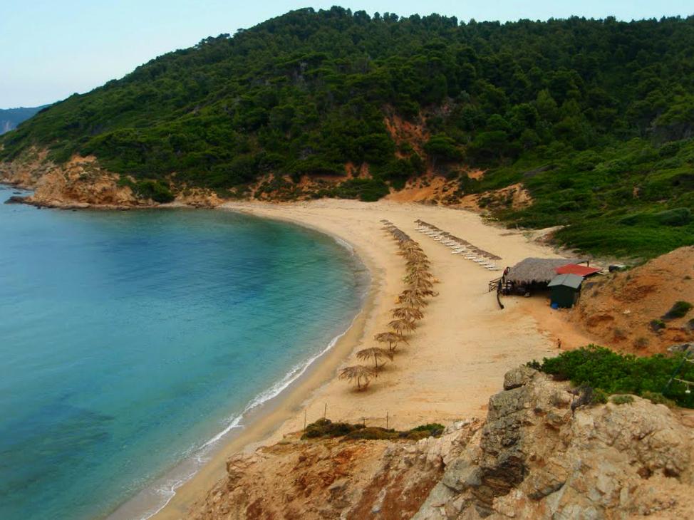Plaža Agistros Skiatos Grčka