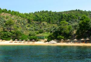 Plaža Diamandi Skiatos Grčka Letovanje