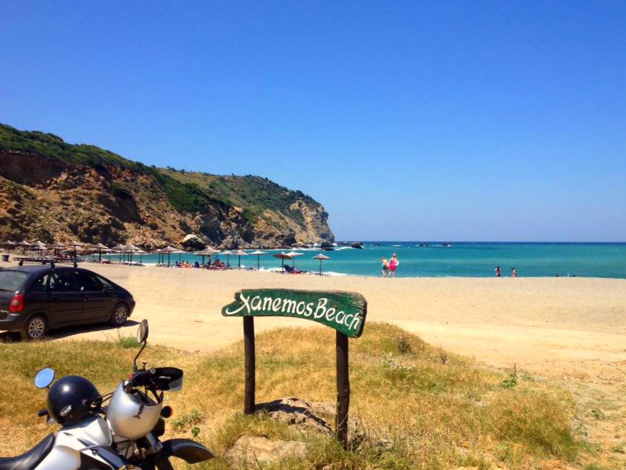 Plaža Ksanemos Skiatos Grčka