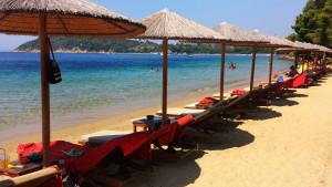 Plaža Marata Skiatos Grčka