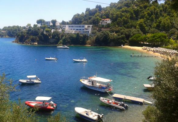 Plaža Tzaneria Skiatos Grčka
