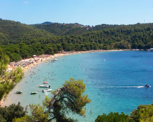 Plaža Kukunaries Biser Skiatosa