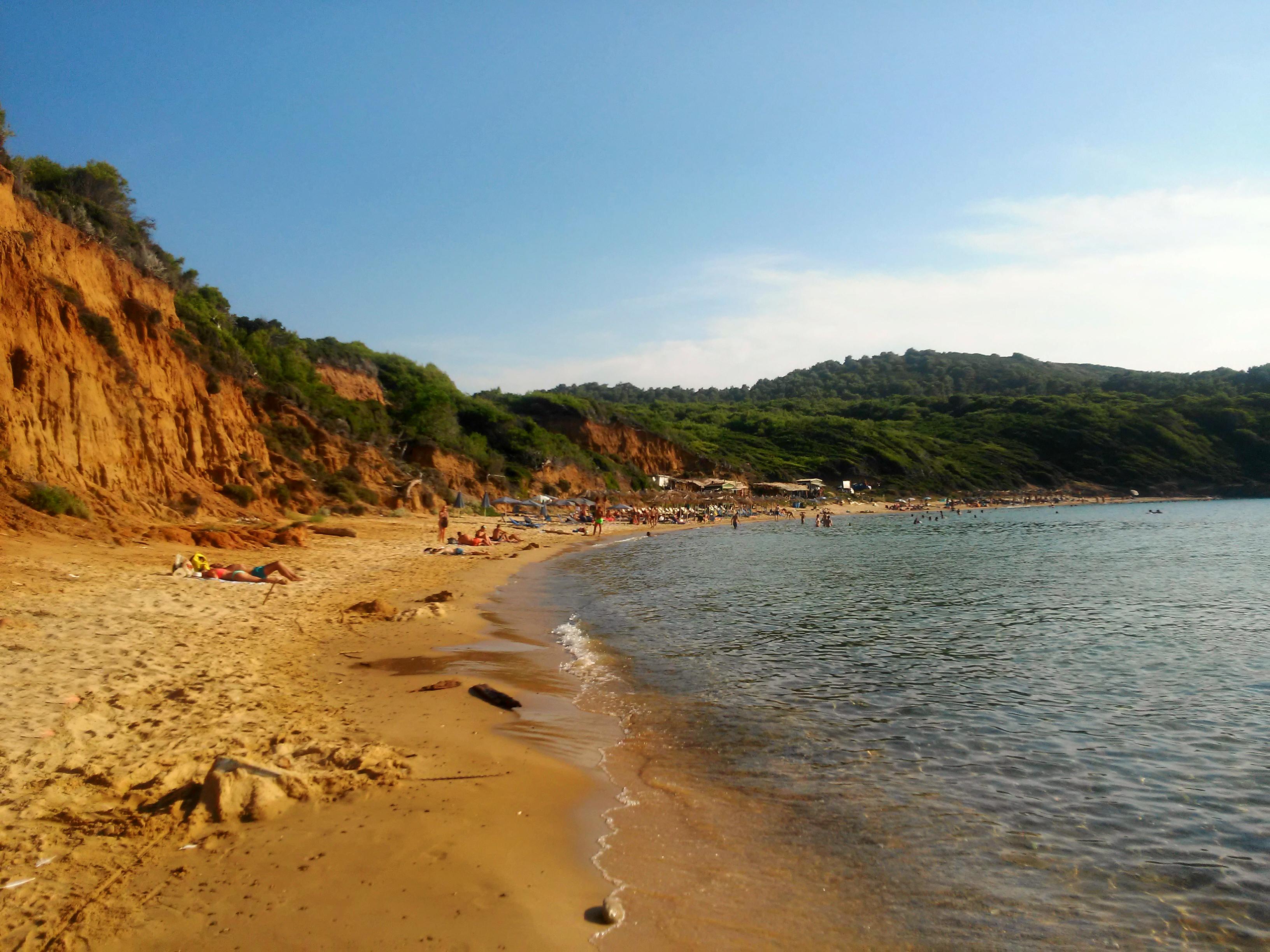 Plaža Mandraki Skiatos Grčka