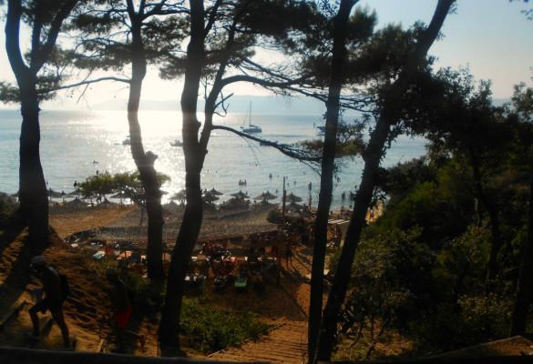 Plaža Banana Bananistas Skiatos
