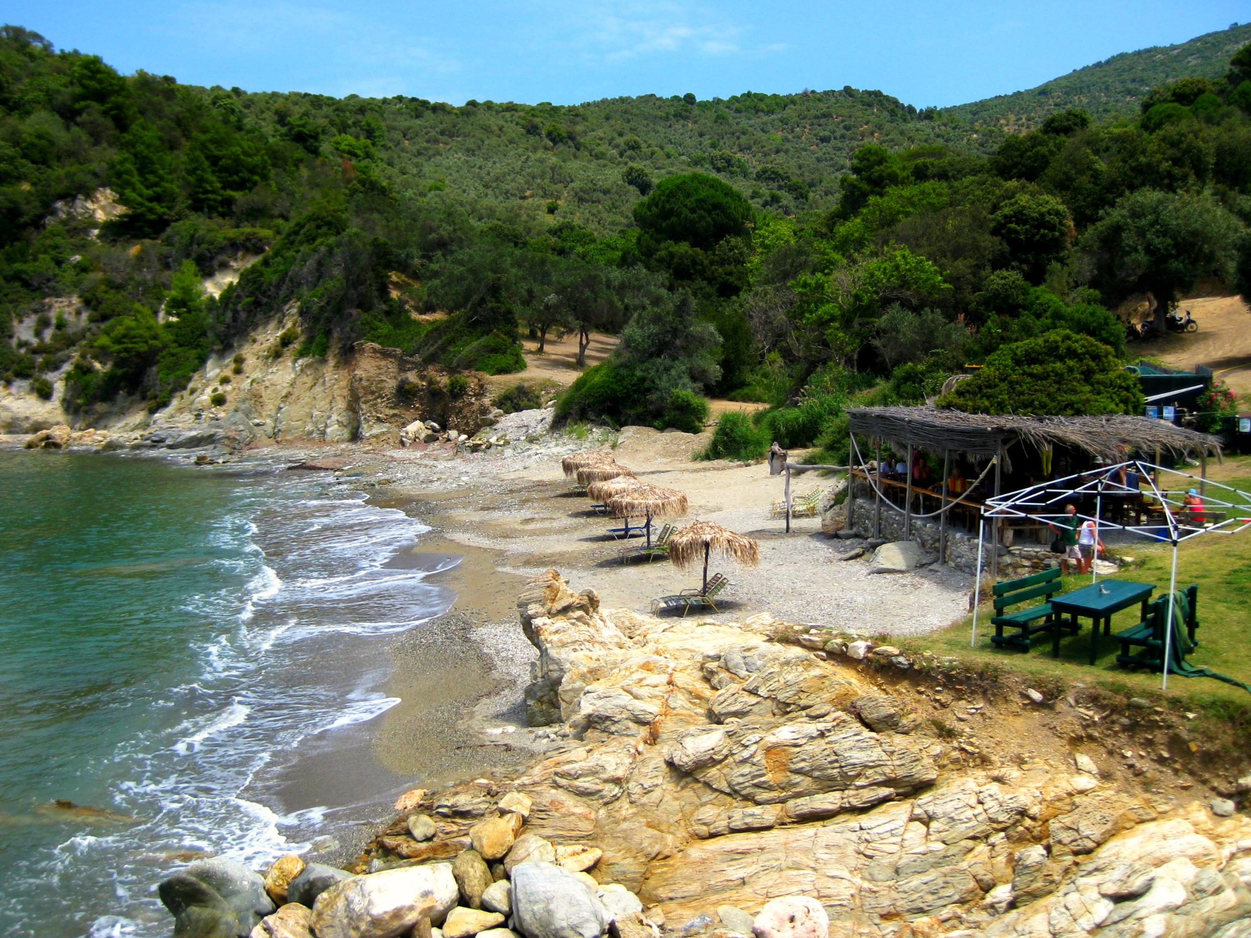 Kehria plaža Skiatos