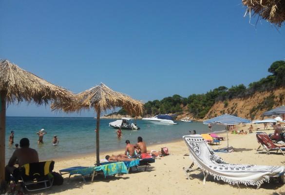Plaža Mandraki Skiatos Grčka Slika 3