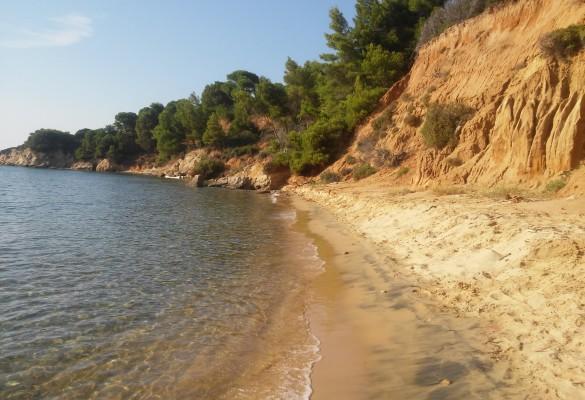 Plaža Mandraki Skiatos Grčka Slika 4