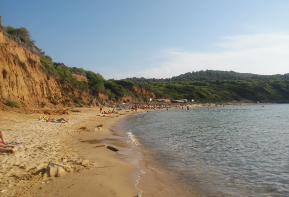 Plaža Mandraki Skiatos Grčka Slika 5