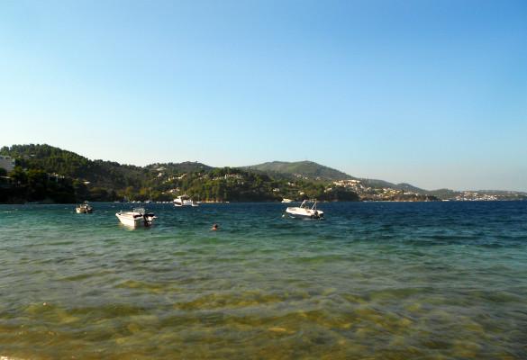 Plaža Kanapica Skiatos Grčka Letovanje